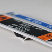Sistema fissaggio Etichette con Supporto