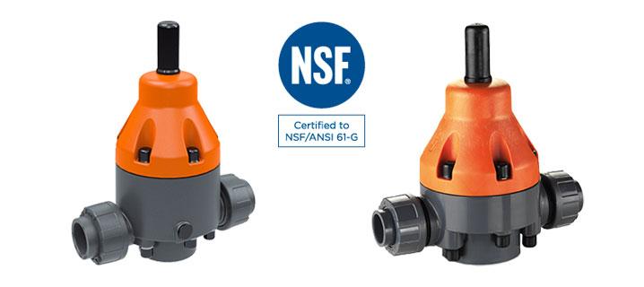 Valvole di sfioro certificati NSF