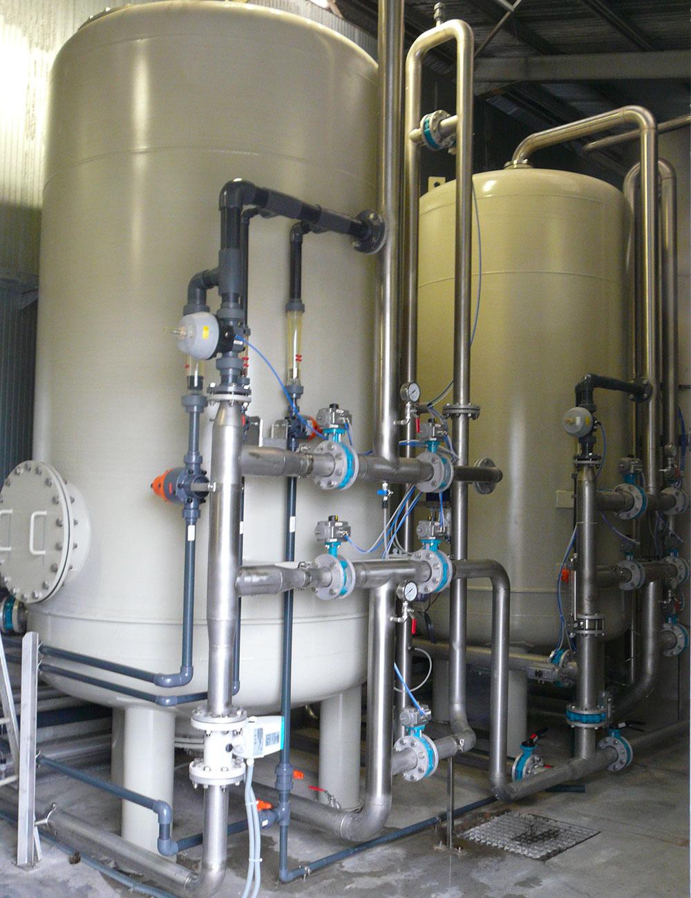 Trattamento delle acque reflue industria tessile: Nuovo impianto eco
