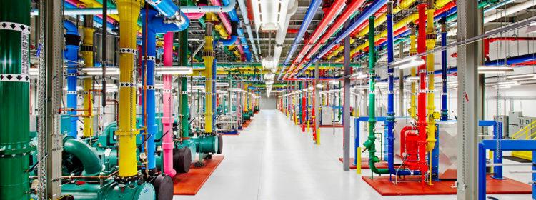 identificazione tubazioni google datacenter