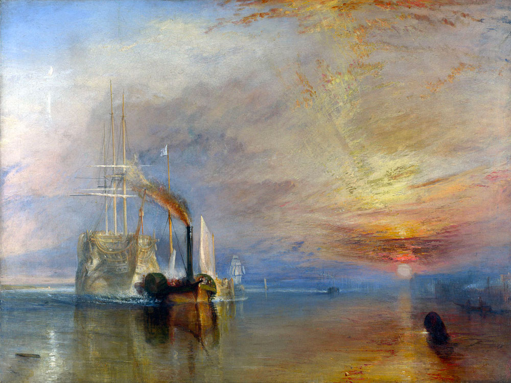 scoperta pigmenti pittura William Turner