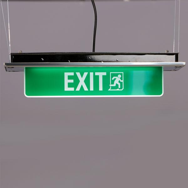 Lampada di emergenza con uscita di sicurezza LED: luci vie di esodo