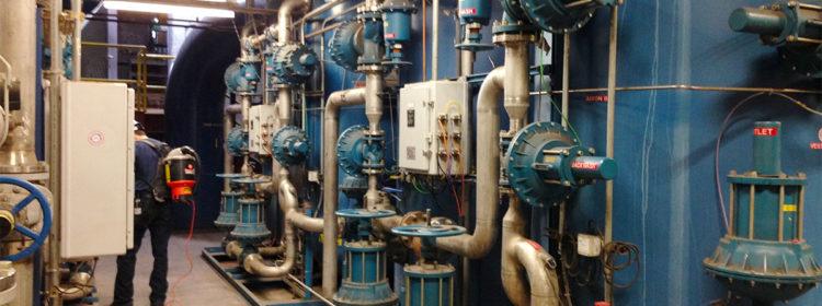 impianto scambio ionico depurazione acque di caldaia