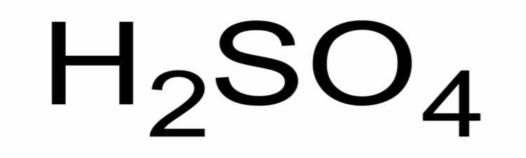 Simbolo del H2SO4