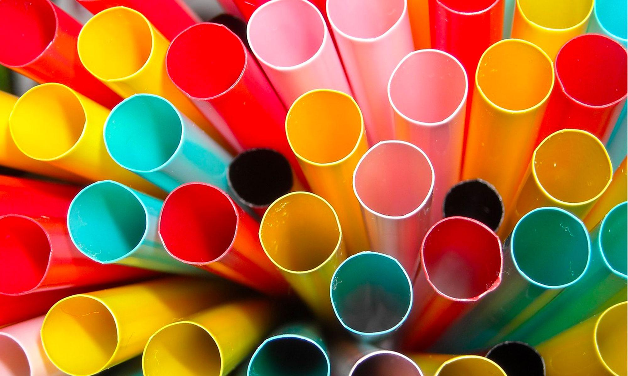 Tubazioni colorate in plastica PVC